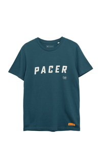 Organic Cotton Pacer Tee - Blue
