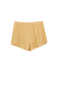 Performance Running Short - Mustard