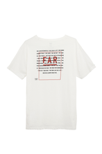 Load image into Gallery viewer, Manifesto Organic Cotton Tee - White