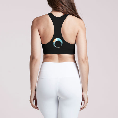 Evolve Racerback Sports Bra Black