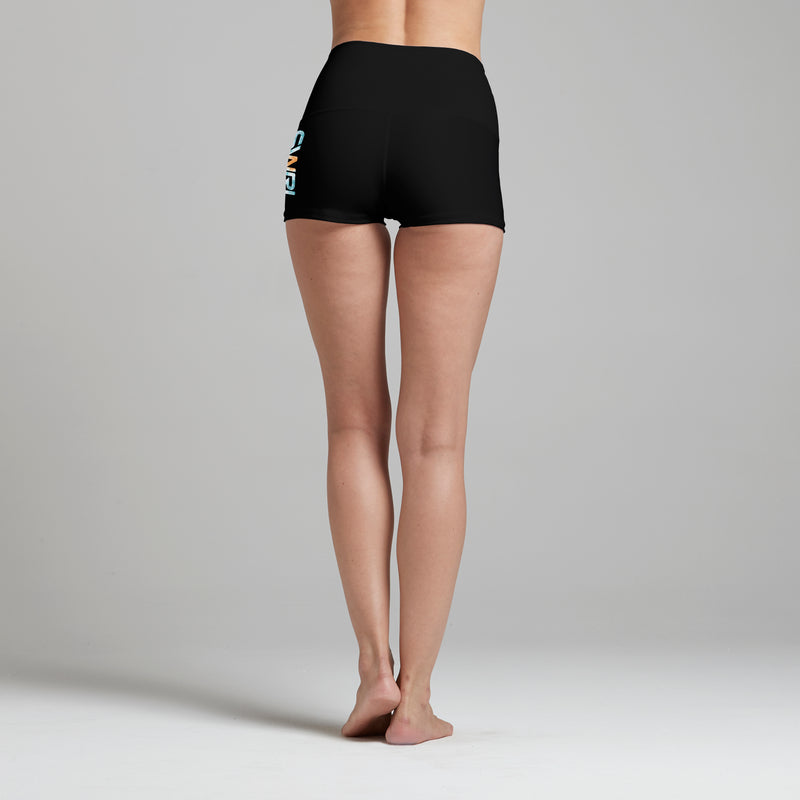 Evolve Yoga Shorts Black