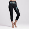 Evolve Crop Legging Black/TieDye