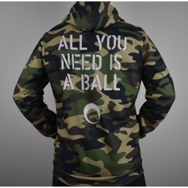 AYNIAB Pullover Hoodie Green Camo