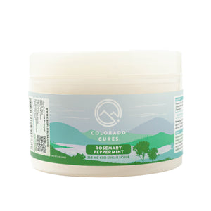 Colorado Cures Sugar Scrub 250mg
