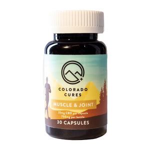 Colorado Cures Muscle and Joint 750mg 30ct Capsules