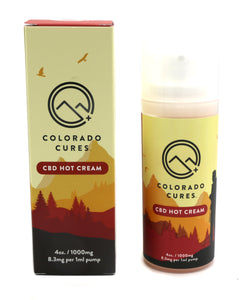 Colorado Cures Hot Cream