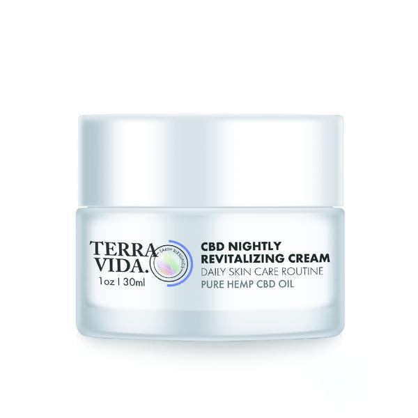 Terra Vida CBD Nightly Revitalizing Cream