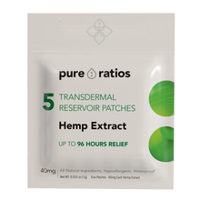 Load image into Gallery viewer, Pure Ratios CBD Transdermal Patch
