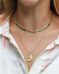 GOOD FRIEND NECKLACE IN 14K GOLD