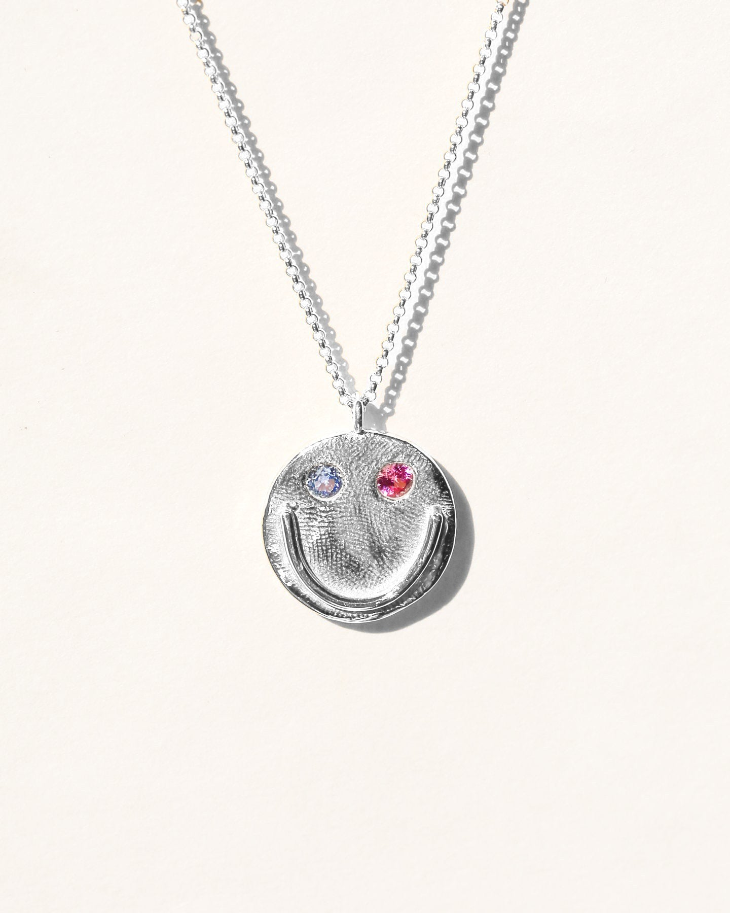GOOD FRIEND NECKLACE IN SILVER