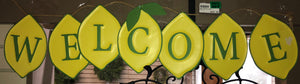 Lemon Welcome Banner