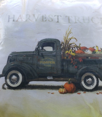 Harvest Truck Pillow