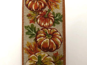 Fall Pumpkins Ribbon