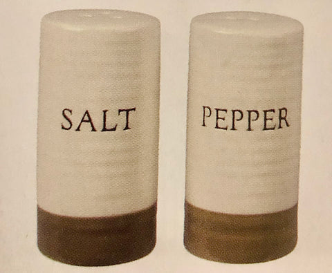 Farmhouse Two-Tone Salt/Pepper Shaker