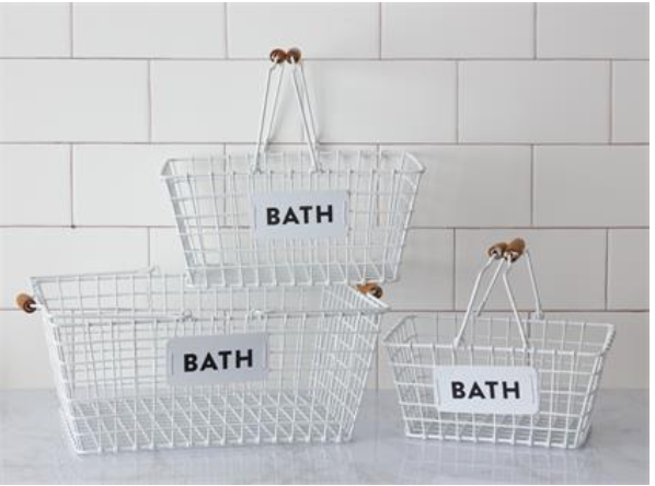 Bath Wire Basket