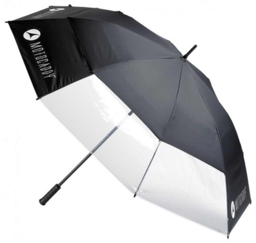 Motocaddy Clearview Auto Open Golf Umbrella