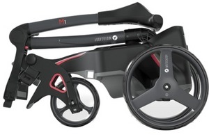 Motocaddy M1 DHC Electric Golf Trolley Standard 18 Hole Lithium