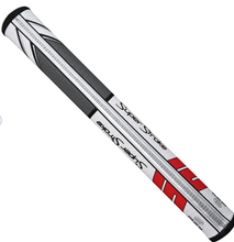 Load image into Gallery viewer, Superstroke Traxion Flatso Putter Grip red/grey