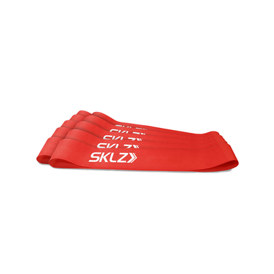 SKLZ Mini Bands Red - 10pk (No Pkg) - Buy now online with Free delivery in 1-2 days in UAE, Dubai, Abu-Dhabi.