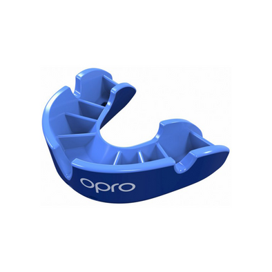 OPRO Self-Fit - Junior Silver Mouthguard -Buy now online with Free delivery in 1-2 days in UAE, Dubai, Abu-Dhabi.