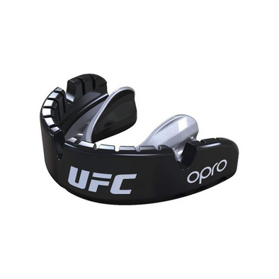 OPRO Self-Fit UFC Gold Mouthguard for Braces - Buy now online with delivery in 1-2 days in UAE, Dubai, Abu-Dhabi.