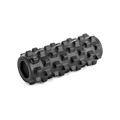 "Rumble Roller 12"" Compact Textured Foam Roller - Xtra Firm - Buy now online with Free delivery in 1-2 days in UAE, Dubai, Abu-Dhabi."