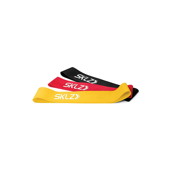 SKLZ Mini Bands (Set of 3) - Buy now online with delivery in 1-2 days in UAE, Dubai, Abu-Dhabi.
