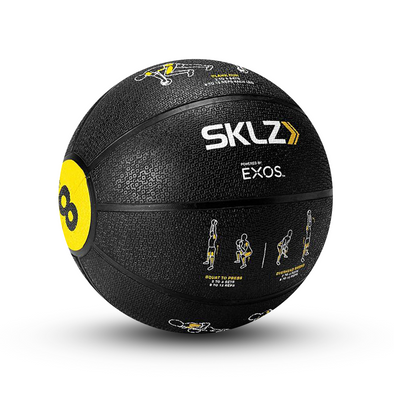 SKLZ Trainer Med Ball - 8lbs - Buy now online with Free delivery in 1-2 days in UAE, Dubai, Abu-Dhabi.
