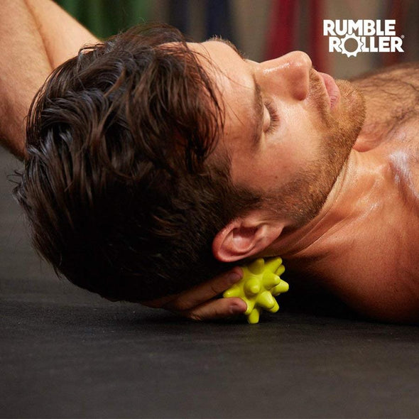 Rumble Roller Beastie Massage Ball & Base - Firm - Buy now online with delivery in 1-2 days in UAE, Dubai, Abu-Dhabi.