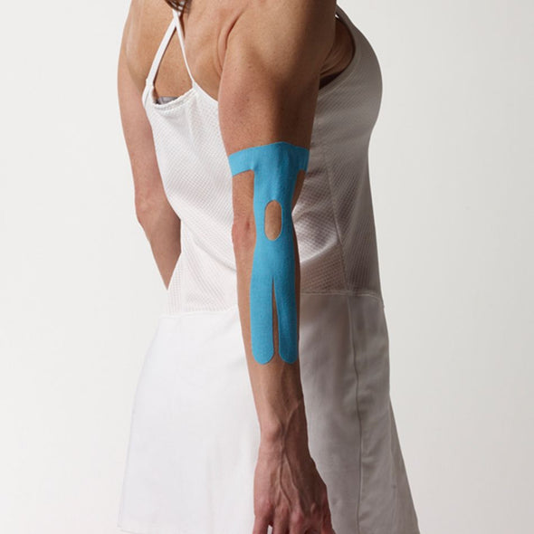 SpiderTech Kinesiology Tape Elbow Pre-Cut (6 Pieces) - Buy now online with delivery in 1-2 days in UAE, Dubai, Abu-Dhabi.