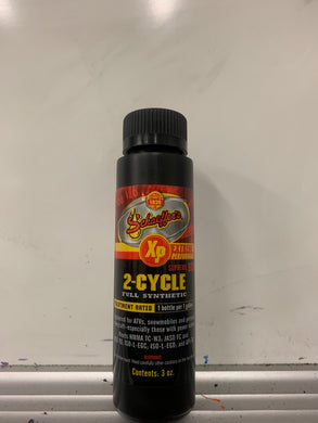 Schaeffer's 9006 Supreme 9000 Full Synthetic 2-Cycle Racing Oil (3 Oz)