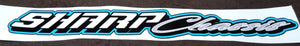 SHARP Chassis Decal 2x16