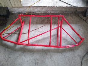 Rocket Style Late Model Front Bumper Support