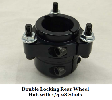 Pro Ultra Lite 1/4-28 Rear Wheel Hub
