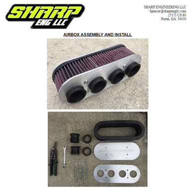 SHARP Mini Late Model Air Filter Assembly Instructions