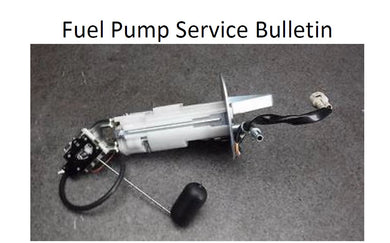 SHARP Mini Late Model Fuel Pump Service Bulletin