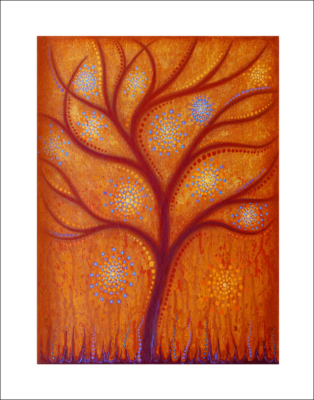Tangerine Dream Print on Paper