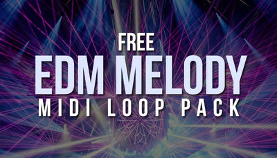 Free EDM Melody MIDI Loops Vol 1 (Free Download)