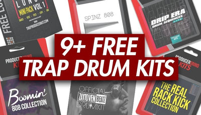 The 9 Best Free Drum Kits For Making Trap Beats (2020 Updated)