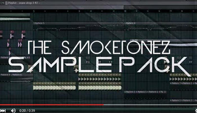 The SmokeTonez Free EDM Drum & Sample Kit