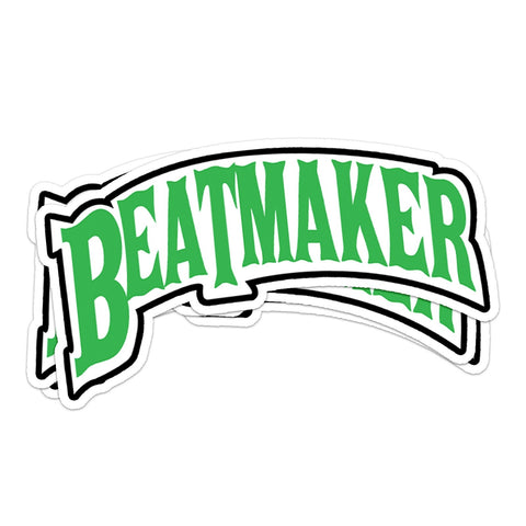 Beatmaker Sticker Pack (Slime Green) - Producergrind