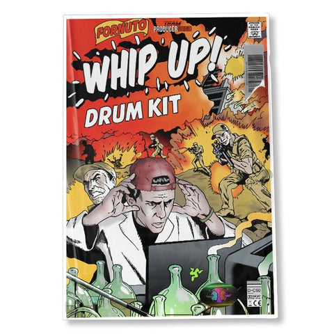 Fornuto 'Whip Up' Drum Kit - Producergrind