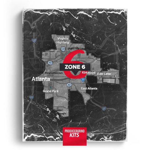 Fornuto 'Zone 6' Drum Kit - Producergrind