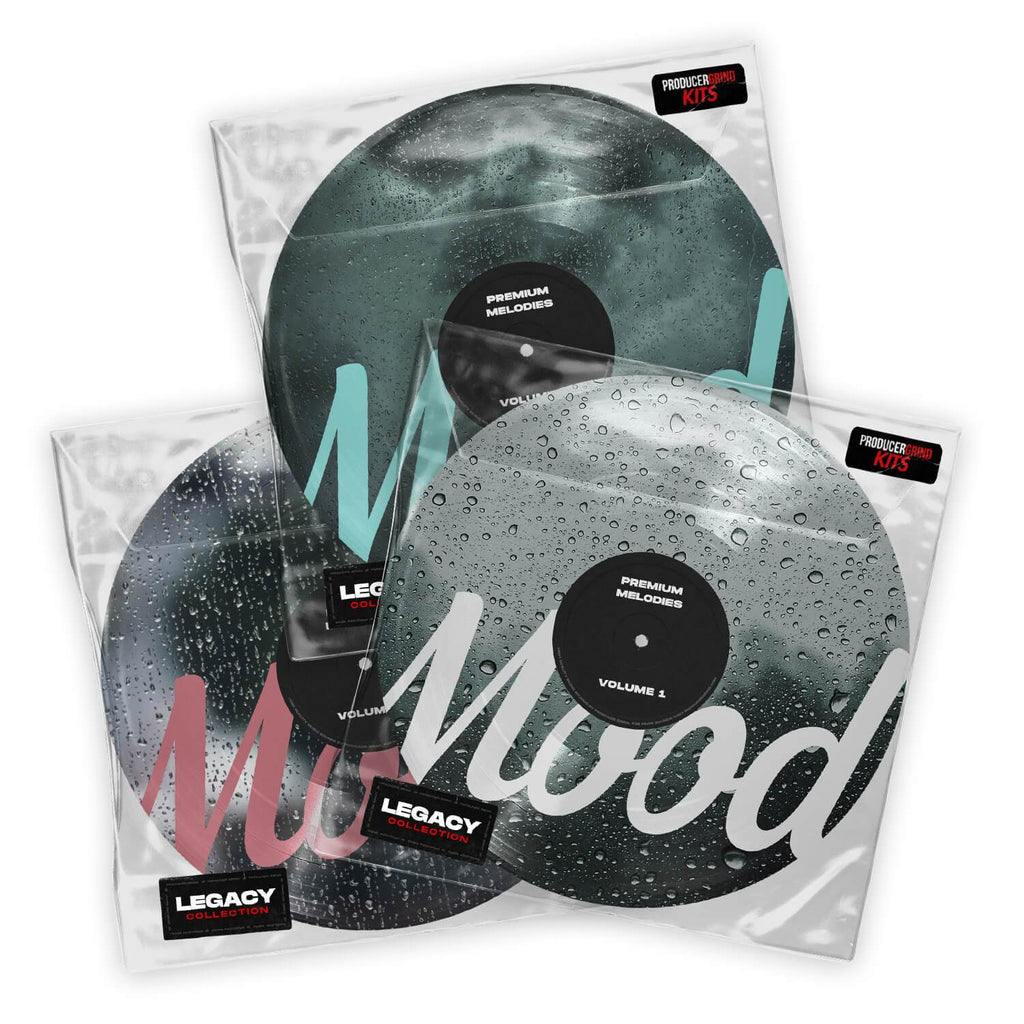MOOD Premium Melodies Vol 1-3 Bundle - Producergrind