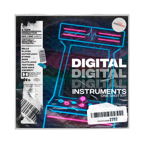 TB Digital 'Digital Instruments' One-Shot Kit - Producergrind