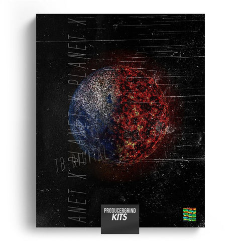 TB Digital's 'Planet X' Sample Pack - Producergrind