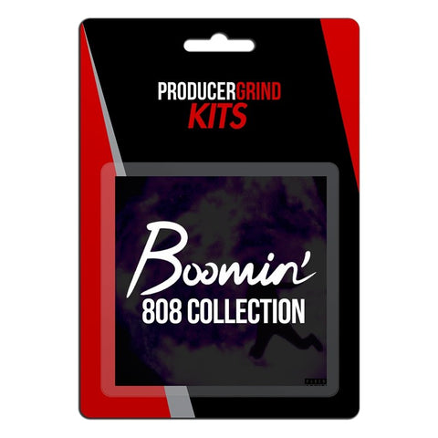 "The ""Boomin 808 Collection"" Drum Kit (Free Download) - Producergrind"