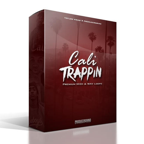 "The ""Cali Trappin"" Premium MIDI & WAV Melody Loop Pack - Producergrind"