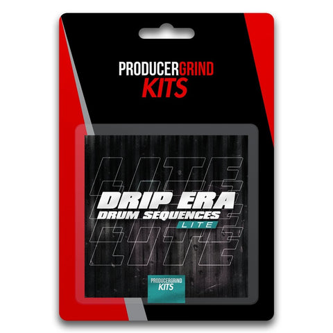 "The ""Drip Era"" Drum Sequence Kit (LITE) - Producergrind"