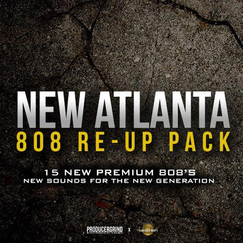 "The ""New Atlanta"" 808 Re-Up Pack - Producergrind"